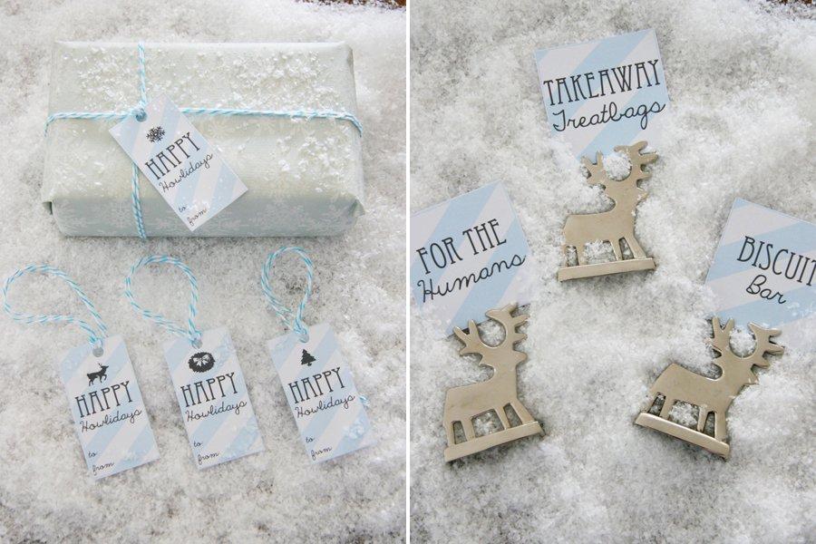 Dog Christmas Party Printables | Pretty Fluffy