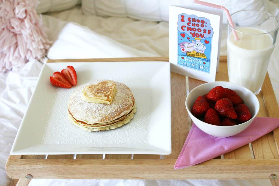 Valentine's Day Pancake Brunch | Pretty Fluffy