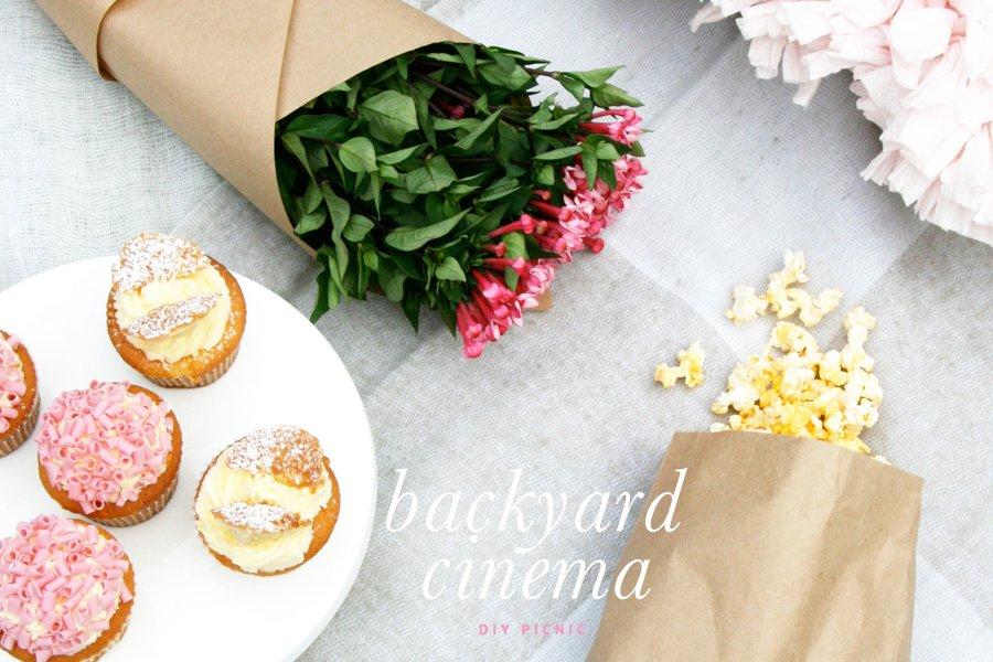 DIY Backyard Cinema | Pretty Fluffy