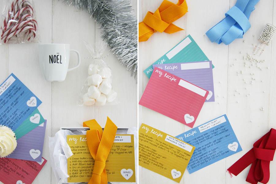 Last Minute Supermarket Gift Box Ideas + Printable   Pretty Fluffy