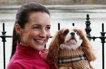Kristin Davis Celebrity Pets   Pretty Fluffy