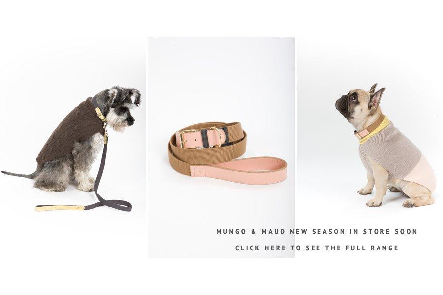 Mungo & Maud Dog Leads and Collars | Pretty Fluffy