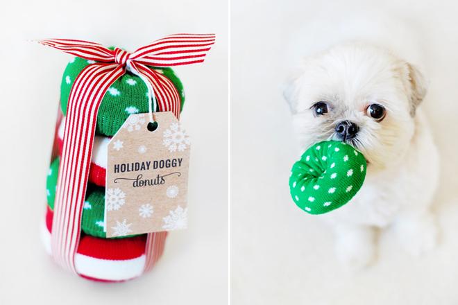 DIY-Cocos-Donut-Toys | DIY Dog Christmas Gifts