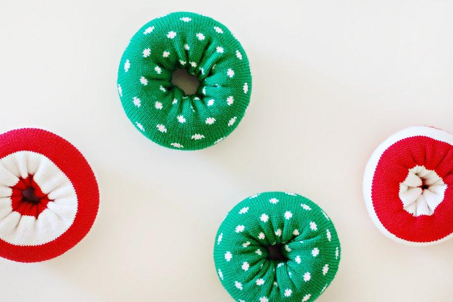 DIY Holiday Dog Donut Toy Tutorial