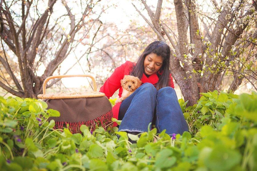 5 Ideas for Spring Pet Photos | www.prettyfluffy.com