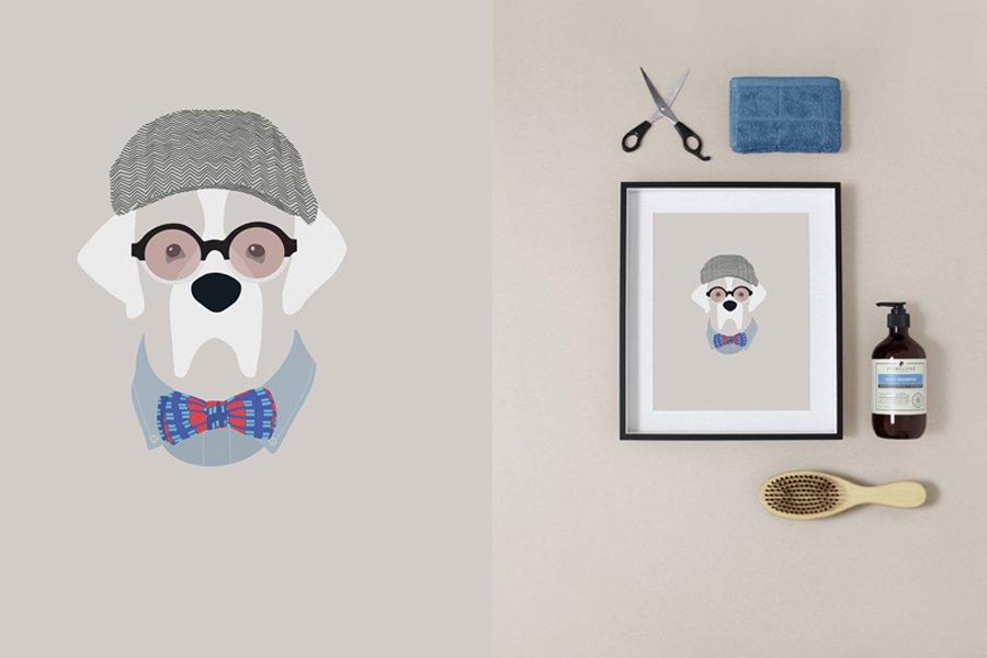 Woof Models Pet Portraits by Sum Leung