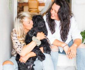 Katy and Shell - editors of Pretty Fluffy
