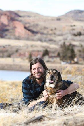 Bubbles & Dad - Colorado Pet Photography session - Pretty Fluffy