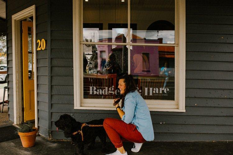 Dog-friendly cafe in Stratford, Gippsland - Badger & Hare cafe - Pet friendly Maffra