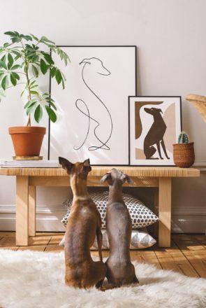 Shop Dog Lovers Directory-Dog Portraits and Mementos - Animalist Pet Portraits