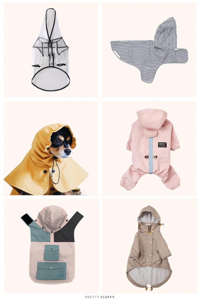 Dog Raincoat Pony Parasoly Yellow by Hunting Pony | 9 Stylish Dog Raincoats More Trendy Than Yours | Modern Dog Raincoats