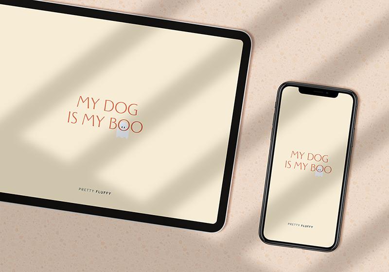 October 2021 Halloween Free Dog Quote Wallpaper - Free Desktop Wallpaper for Dog Lovers